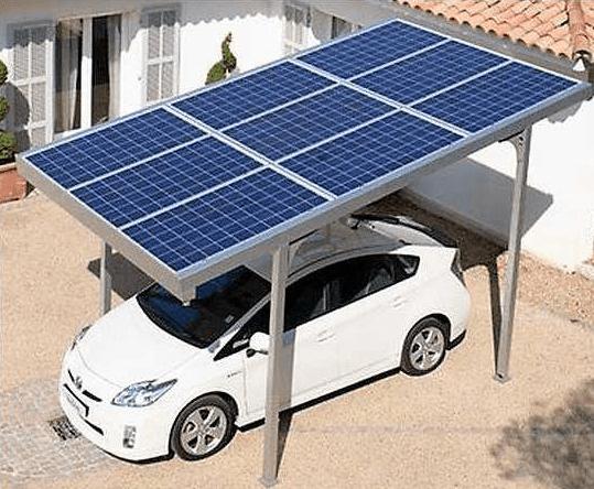 Image Carport 3x5m - Énergie solaire
